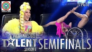 Video Pilipinas Got Talent 2018 Semifinals: Julius and Rhea- Wheelchair Dance MP3, 3GP, MP4, WEBM, AVI, FLV April 2018