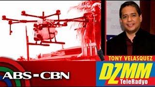 Drone farming, kinokonsidera para mapabilis at mapagaan ang pagsasaka | DZMM