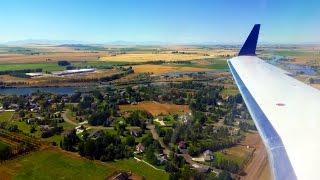 Idaho Falls (ID) United States  City new picture : United Express CRJ200 landing at Idaho Falls Regional Airport!