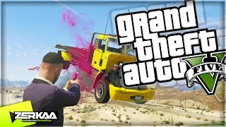 SNIPERS VS TRUCKERS | GTA 5 Funny Moments