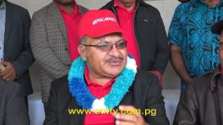 Leader of the People's National Congress, Peter O'Neill is confident of forming the next Government. This despite candidates from rival parties like Pangu and National Allaince being declared.He says PNC will return to Alotau to camp and form Government.visit us at http://www.emtv.com.pg/ for the latest news...