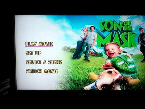 Opening To The Mask And Son Of The Mask Double Feature 2008 Dvd:Son Of The Mask