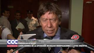 Seguridad en los boliches