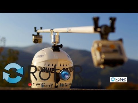 RotoR Helmet Swivel Mount 360˚ Official Tutorial GoPro Accessory Set Up Review How To Film Yourself