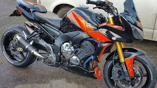 Download Video YAMAHA FZ1 special streetfighter custom build MP3 3GP MP4