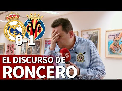 Real Madrid 0-1 Villarreal | Roncero: