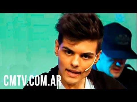 Abraham Mateo video Eres como el aire - Estudio CM 17 Nov 2014