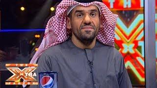 تواصل حسين الجسمي مع الجمهور- الحلقة الثالثة - The XTRA Factor 2013