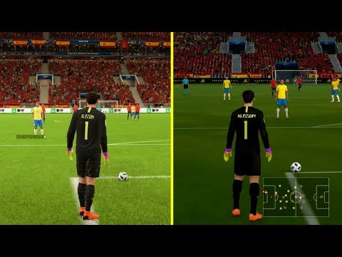 FIFA 18 World Cup Russia 2018 Nintendo Switch Vs PS4 Pro Graphics Comparison