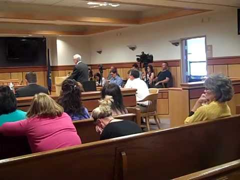 Stacy Sentencing - Resentencing of Stacey Rambold in Billings, MT Sept 26, 2014.