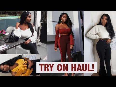 AUTUMN TRY ON HAUL - 🍁OUTFIT IDEAS - MISSGUIDED, PRETTYLITTLETHING