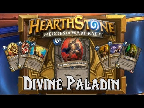 paladin - The Divine Paladin deck focuses on early game board control with secrets, taunt minions, and divine protection. Allowing you to buy time for your late game d...
