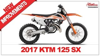 7. 2017 KTM 125 SX Price & Spec