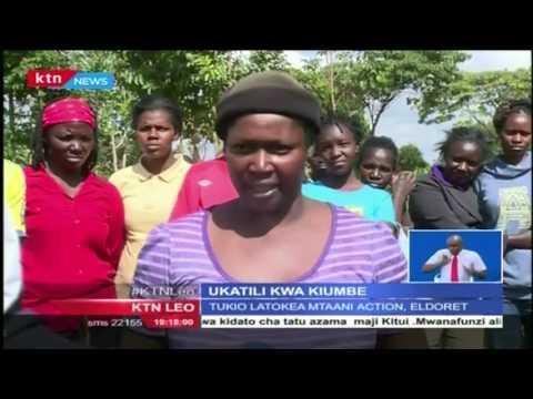 Kijusi wa miezi saba azikwa shambani mtaa wa Action mjini Eldoret