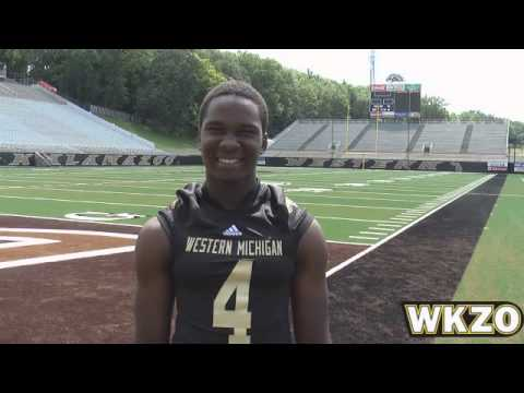 WMU WR Jamie Wilson from Media Day