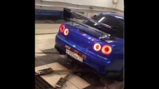 Настройка Nissan GTR R34 TommyKaira