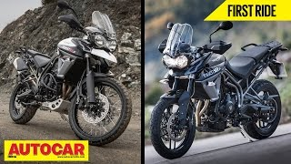 7. 2015 Triumph Tiger 800 XR & 800 XC | First Ride Video Review | Autocar India