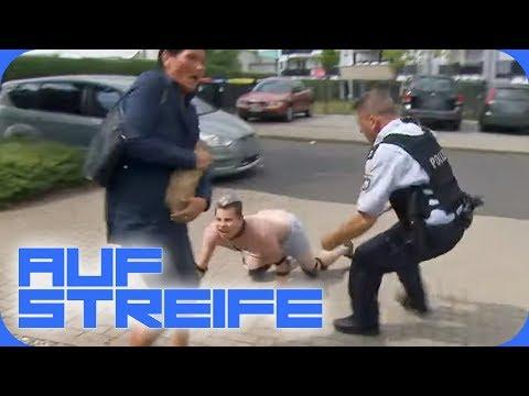 Tierischer Angriff: Typ beißt Menschen! Warum tut er so als wär er ein Hund? | Auf Streife | SAT.1