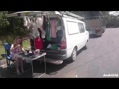 Work and Travel Australia - #carinaandnoraontour - Unser Campervan