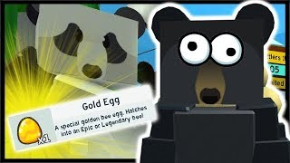 FINAL QUEST GOLD EGG REWARD!! | Roblox Bee Swarm Simulator