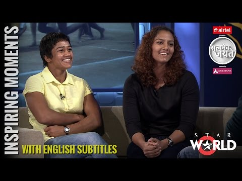 Geeta and Babita Phogat Interview by Aamir Khan in Satyamev Jayate