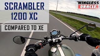 2. Triumph Scrambler 1200 XC | Review | How does it compare to the XE?