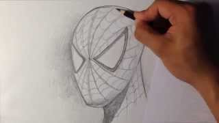 Video How to Draw Spider-man in Fine Art Style - Easy Drawings MP3, 3GP, MP4, WEBM, AVI, FLV November 2017