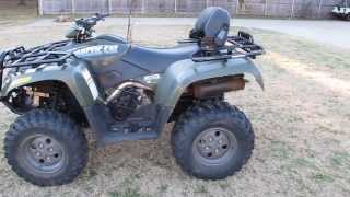 9. 2006 Arctic Cat 500 4x4, lockers, automatic, Suzuki power plant, low miles and hours