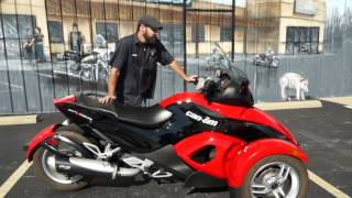 4. 2009 Can-Am Spyder RS SM5!