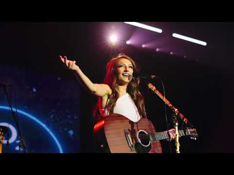 Catherine McGrath Supporting Michael Buble at the O2 Arena