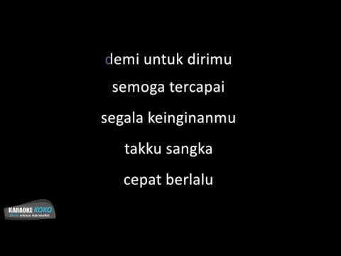D'Masiv   Pergilah Kasih  Karaoke Version  No Vocal Lirik