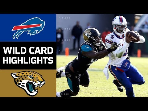 Bills vs. Jaguars | NFL Wild Card Game Highlights (видео)