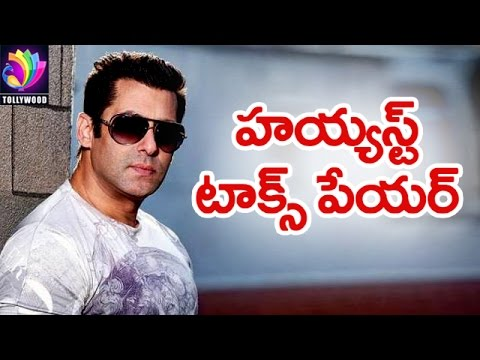Video Salman Khan is the Highest TAX Payer | Akshay Kumar | Ranbir Kapoor | Tollywood TV Telugu download in MP3, 3GP, MP4, WEBM, AVI, FLV January 2017