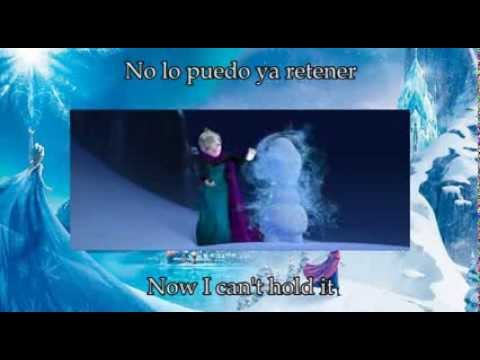 Let it go  – English and Spanish Lyrics