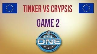 TTinker vs Crypsis, game 2