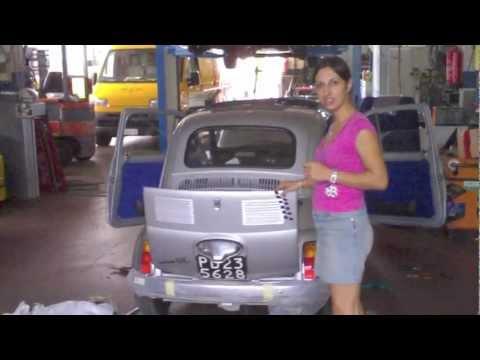 incredibile! trasforma vecchia 500 in auto elettrica: 2€ per 100km!