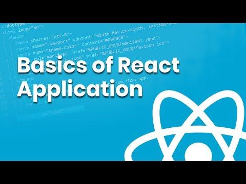 Understanding React Application | Eduonix