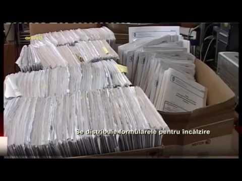 Se distribuie formularele pentru incalzire