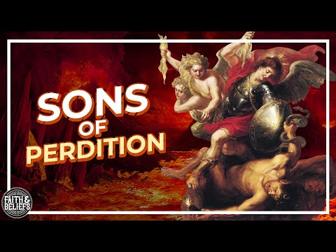 Who are Sons of Perdition and what is the unpardonable sin?