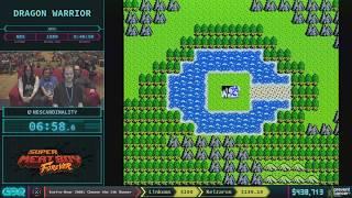 Video Dragon Warrior by NEScardinality in 27:19 - AGDQ 2018 - Part 77 MP3, 3GP, MP4, WEBM, AVI, FLV Oktober 2018
