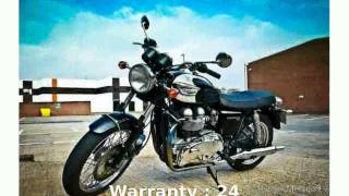 9. 2005 Triumph Bonneville T100 - Features & Specification