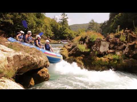 Najljepši Kamp na 5 Unskih Otoka - Una Rafting