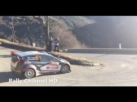 robert kubica derapa al rally monte-carlo 2015!