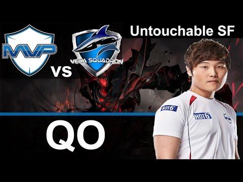 MVP QO plays Shadow Fiend [Untouchable SF vs VegaSquadron] Dota 2 [TI5]