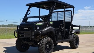 10. 2015 Kawasaki Mule 4010 Trans With Lift Wheel and Tire Upgrade and More!