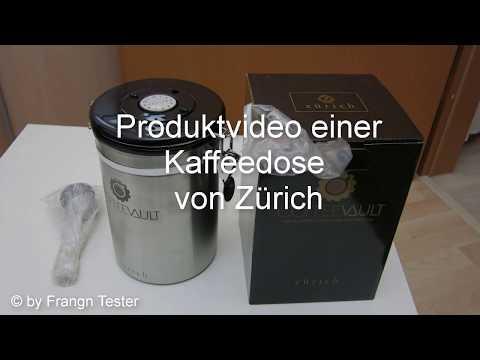 390 - Kaffeedose/Aromadose - von Zürich