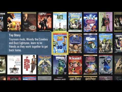Selecting a Movie with a Kaleidescape