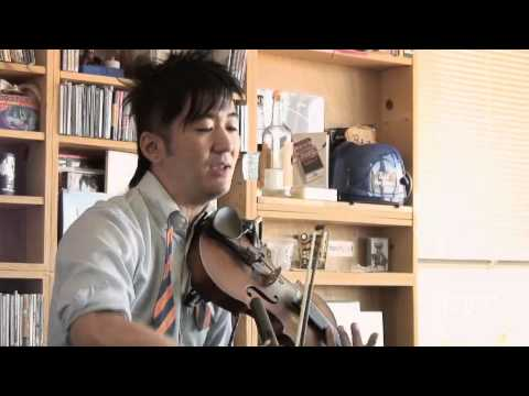 tiny desk concert - K Ishibashi is a master of building his music from the ground up, from live violin loops to layered singing to beatboxing, in order to create pocket symphoni...