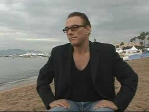Jean-Claude Van Damme in Cannes Video