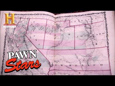 BIG MONEY FOR RARE CIVIL WAR MAPS | Pawn Stars (Season 7) | History